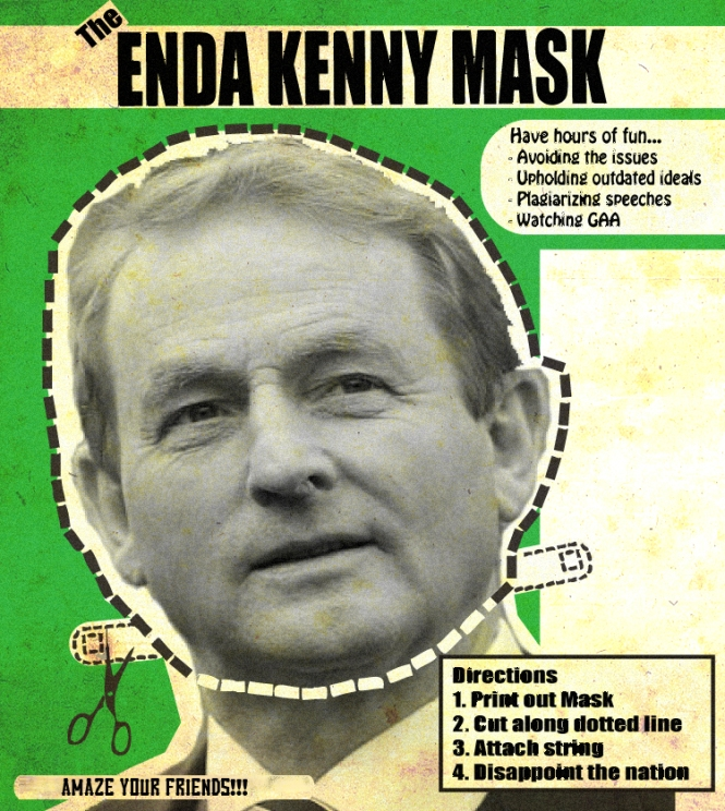 The Enda Kenny Mask